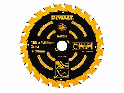 DeWALT DT10300 tarcza piła drewna 165mm/24z/20mm
