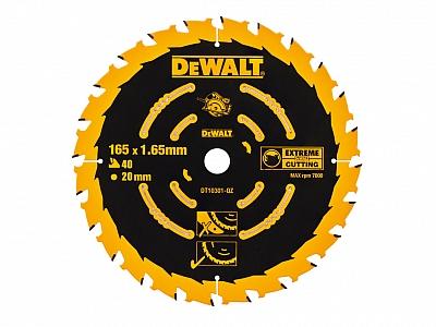 DeWALT DT10301 tarcza piła drewna 165mm/40z/20mm