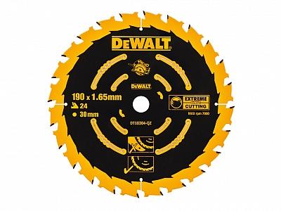 DeWALT DT10304 tarcza piła drewna 190mm/24z/30mm