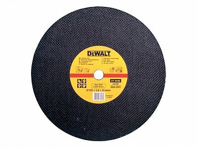 DeWALT DT3450 tarcza korundowa do metalu 355mm