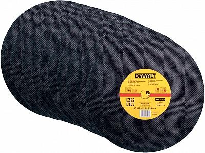 DeWALT DT3450 tarcza korundowa do metalu 355 10szt