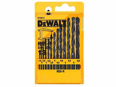 DeWALT DT5912 wiertła HSS-R do metalu
