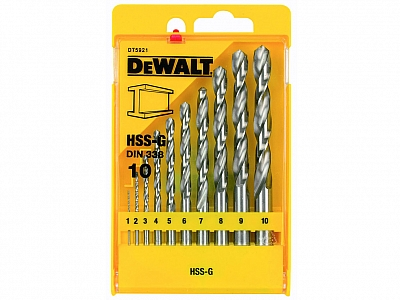 DeWALT DT5921 wiertła HSS-G do metalu