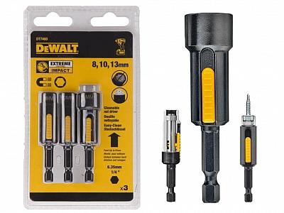 DEWALT DT7460 nasadki udarowe 8/10/13mm