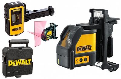 DeWALT DW088KD laser krzyżowy + detektor