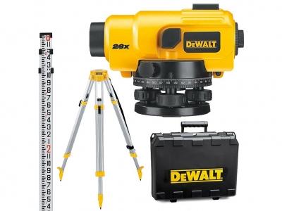 DeWALT DW096PK niwelator optyczny statyw łata x26