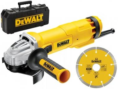 DEWALT DWE4217KD szlifierka kątowa 125mm + tarcza