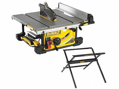 DeWALT DWE7491 pilarka stołowa piła 250mm podstawa