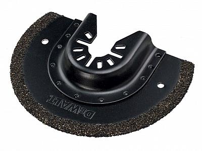 DeWALT multi DCS355 brzeszczot rowków fug DT20717