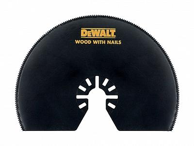 DeWALT multi DCS355 brzeszczot drewna PCV DT20708