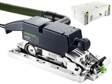FESTOOL BS 75 E SET szlifierka taśmowa 135x75mm