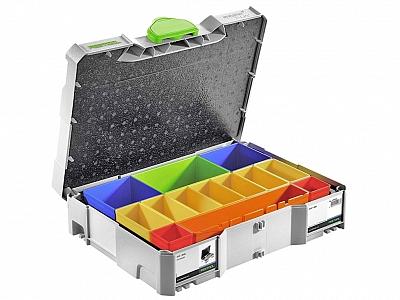FESTOOL SYS 1 BOX systainer skrzynka + pojemniki