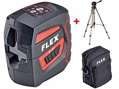 FLEX ALC 2/1 laser krzyżowy 20m + statyw