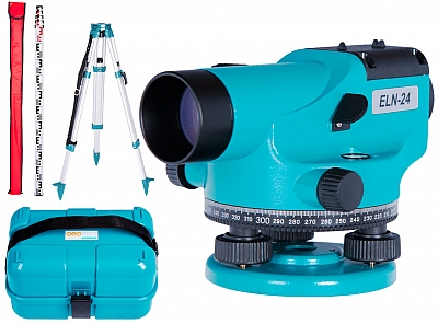 GEO FENNEL ELN 24 niwelator optyczny statyw łata