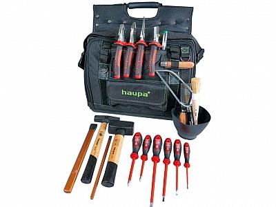 HAUPA 220814 torba narzędziowa z wyposażeniem 20 elementów