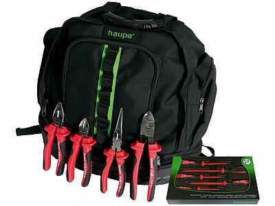 HAUPA plecak na narzędzia zestaw VDE 10el