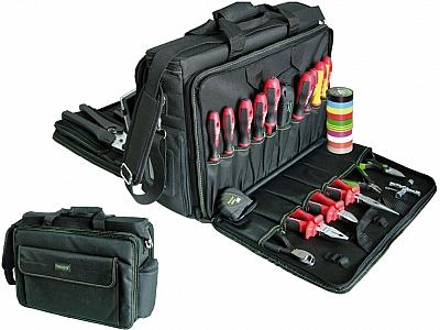 HAUPA 220293 torba serwisowa z narzędziami 30 elementów