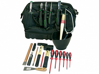 HAUPA 220500 torba z narzędziami 22 elementy