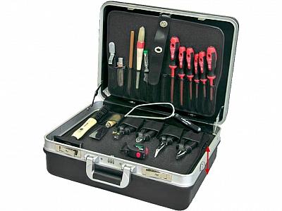 HAUPA walizka na narzędzia zestaw 19-el.