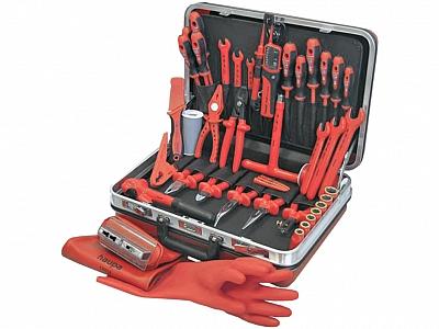 HAUPA walizka na narzędzia DELUX PLUS 54el.