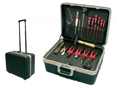 HAUPA 220252 walizka z narzędziami na kołach 19 elementów