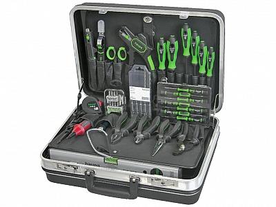 HAUPA walizka na narzędzia COMPACT zestaw 47-el.