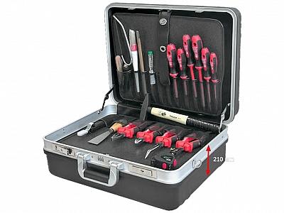 HAUPA 220235 walizka z narzędziami  VDE 19 elementów