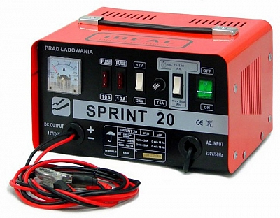 IDEAL SPRINT 20 prostownik 12/24V 200Ah