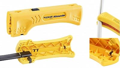 JOKARI Allrounder nóż ściągacz do izolacji 4-15mm
