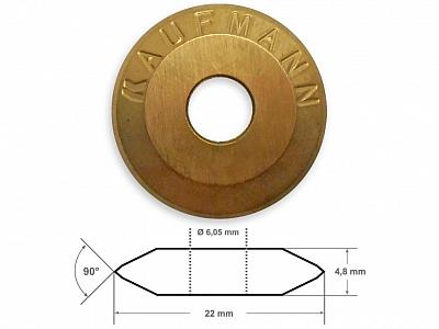 KAUFMANN TIN kółko tnące 22mm TOPLINE MAXIFLIES