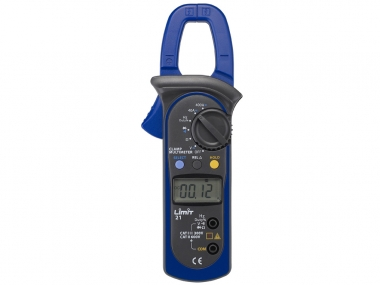 LIMIT 21 multimetr amperomierz cęgowy miernik LCD