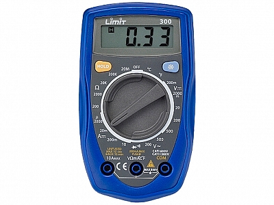 LIMIT 300 LCD miernik multimetr temperatury elektr