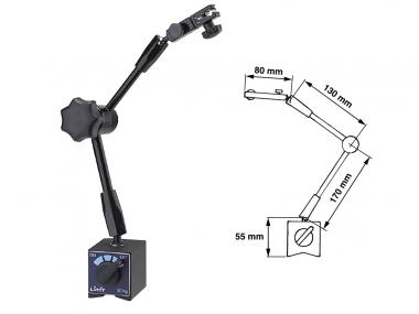 LIMIT statyw pomiarowy magnetyczny do czujników zegarowych 385mm