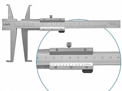 LIMIT suwmiarka do pomiarów wewnętrznych 150mm