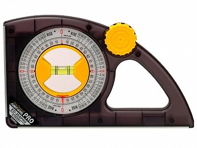 LUNA kątomierz poziomica 250x120mm PROFI