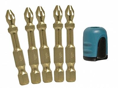 MAKITA B42472 zestaw magnetyzer bity Pz2