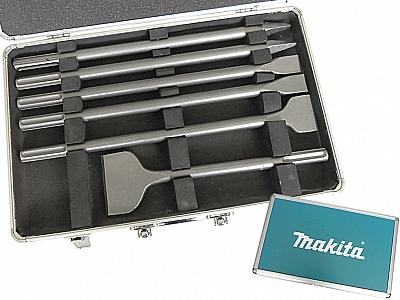 MAKITA zestaw dłuta szpicaki SDS-Max x6