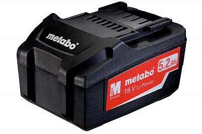METABO akumulator 18V 5,2Ah Li oryginał