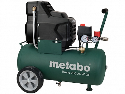 METABO BASIC 250-24 W OF sprężarka bezolejowa 24 L