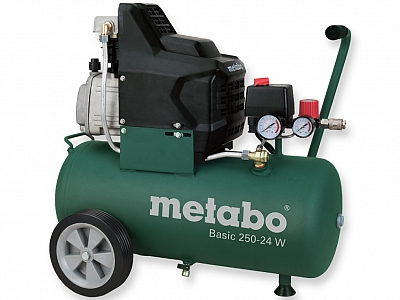 METABO BASIC 250-24 W sprężarka kompresor 24L 8bar