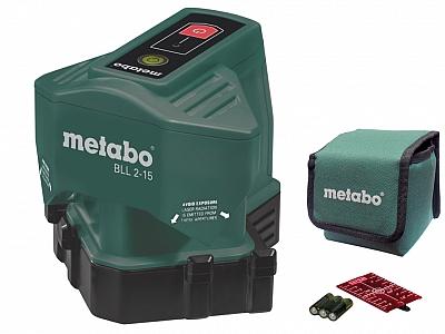 METABO BLL 2-15 laser liniowy podłogowy do płytek