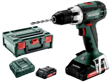 METABO BS 18 LT COMPACT wkrętarka 60Nm 2,0Ah x2