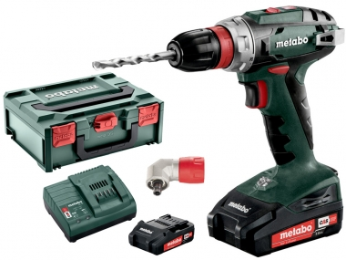 METABO BS18 QUICK wiertarka wkrętarka 48Nm 2x2,0Ah +ADAPTER