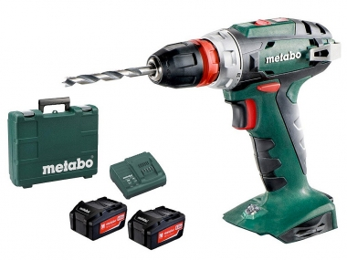 METABO BS18 QUICK wkrętarka 48Nm 4,0Ahx2