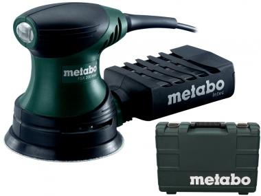 METABO FSX 200 szlifierka mimośrodowa 125mm walizka