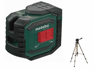 METABO KLL 2-20 laser krzyżowy 20m+statyw