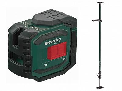 METABO KLL 2-20 laser krzyżowy 20m + tyczka