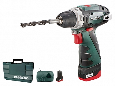 METABO PowerMaxx BASIC wkrętarka 34Nm 10,8V 2x2Ah