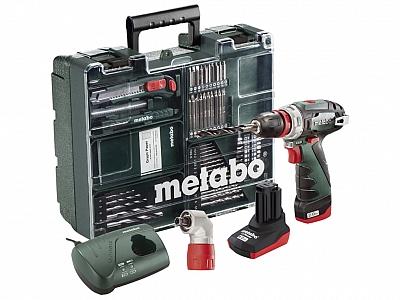 METABO PowerMaxx BS Quick wkrętarka 2/4Ah + 63szt.