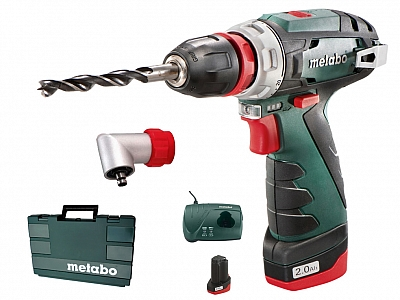 METABO PowerMaxx BS Quick wkrętarka 2Ah + ADAPTER